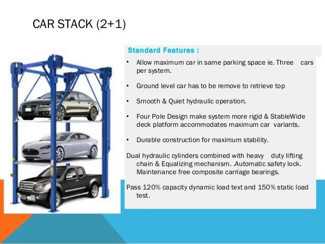 Hydraulic Car Parking System In Mumbai