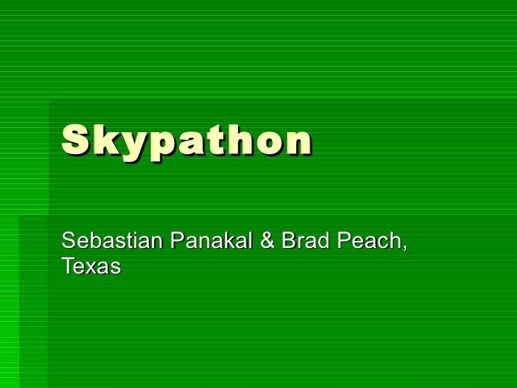 Skypathon Sebastian Panakal & Brad Peach, Texas