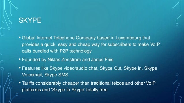 skype disruptive innovation It's official: microsoft, skype marriage consummated  the assets, the technology, the way both companies push forward with disruptive innovation.