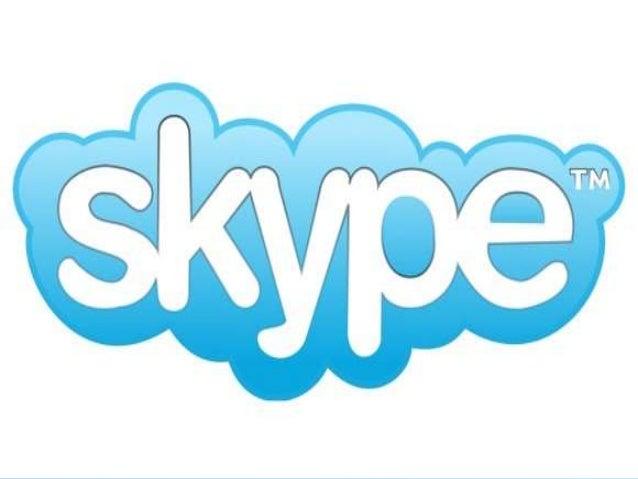 O que é o Skype ? • O Skype é o software que permite que você converse com o mundo inteiro. Milhões de pessoas e empresas ...