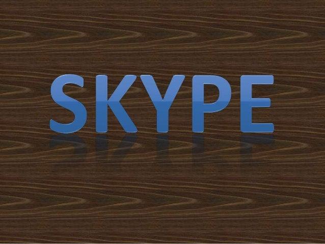 Skype é um software que permite comunicação pela Internet através de conexões de voz e vídeo. O Skype foi lançado no ano d...