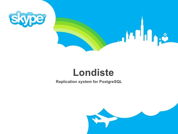 Londiste Replication system for PostgreSQL
