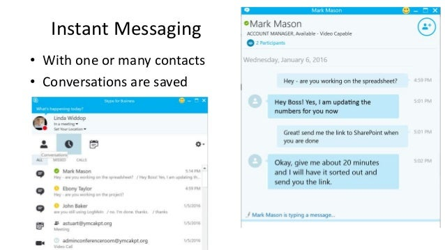 Instant Messaging Business : Webinar supercharge nonprofit collaboration with skype
