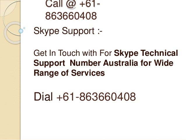 how to call skype support