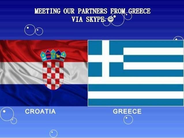 SKYPEMEETING/CROATIA-GREECE