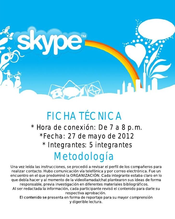 Skype plagio Slide 2