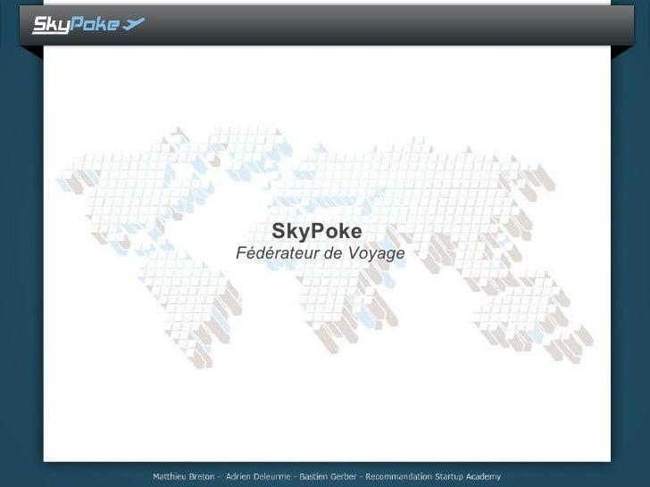 SkyPoke  Fédérateur de Voyage