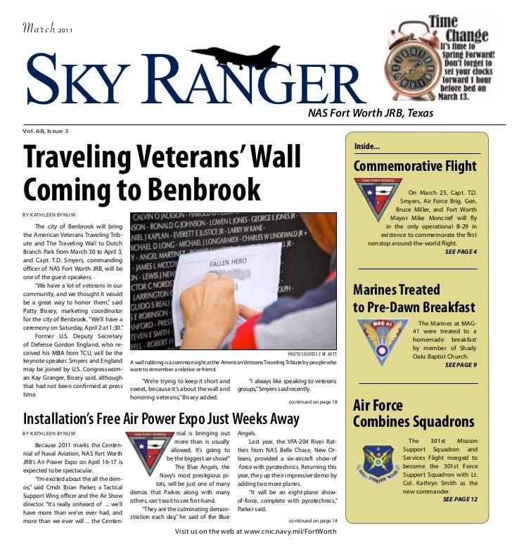 March          2011SKY RANGERVol. 68, Issue 3                                                                             ...