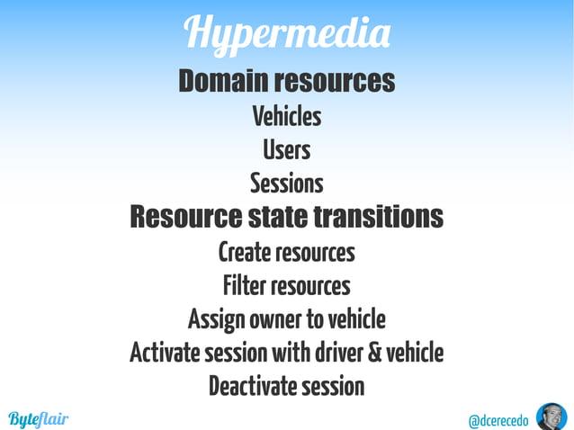 HypermediaHypermedia @dcerecedoByteflair