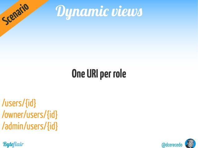 Dynamic viewsDynamic views @dcerecedoByteflair