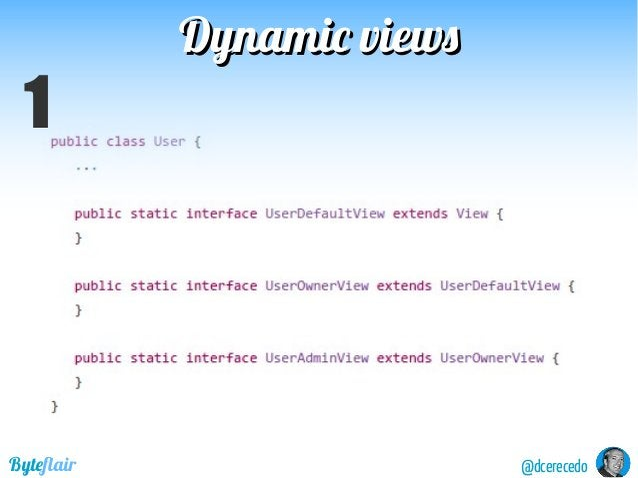 Dynamic viewsDynamic views @dcerecedoByteflair 1