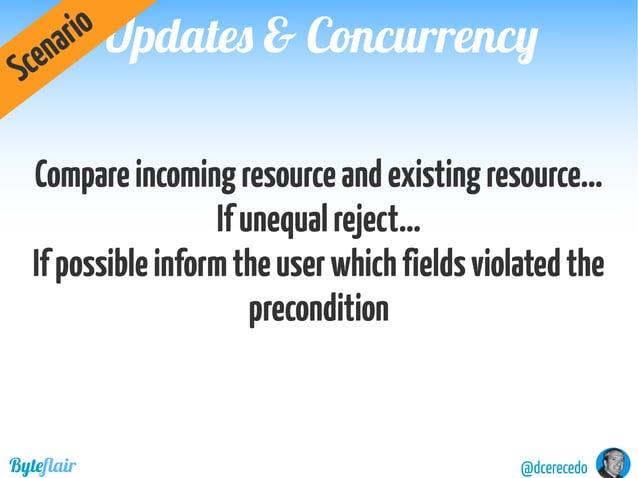Updates & ConcurrencyUpdates & Concurrency @dcerecedoByteflair