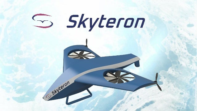 Skyteron is a drone with wing grid propellers