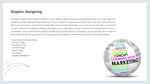 graphic designing - Graphic Artist Profile