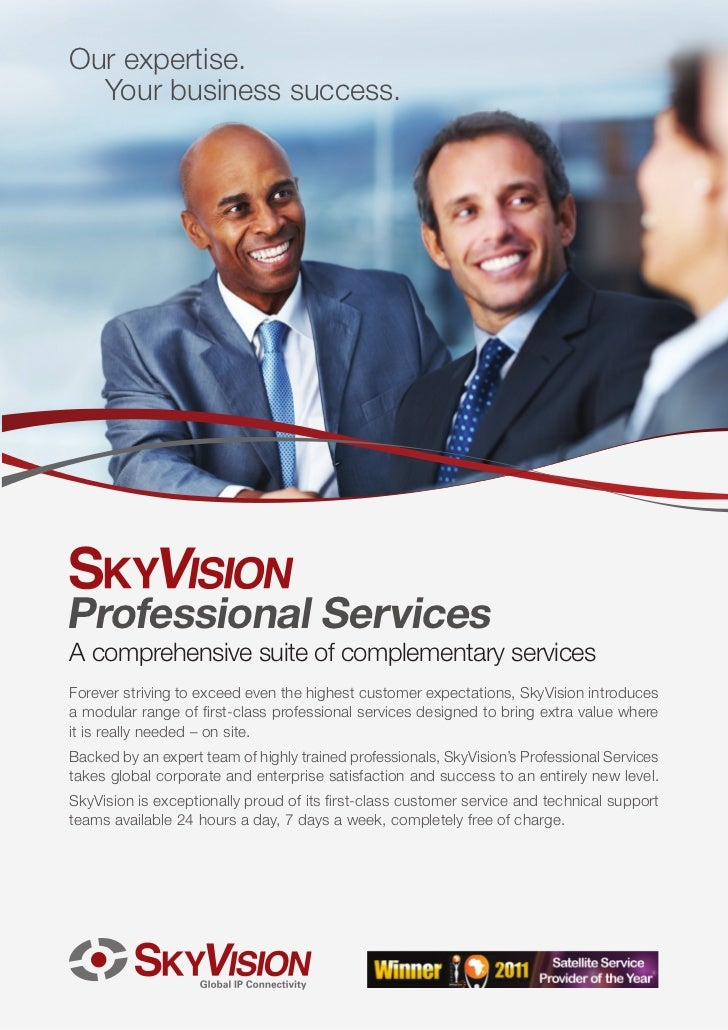 Our expertise.  Your business success.Professional ServicesA comprehensive suite of complementary servicesForever striving...