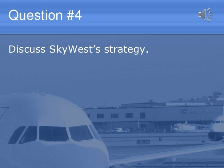 skywest inc and the regional airline industry