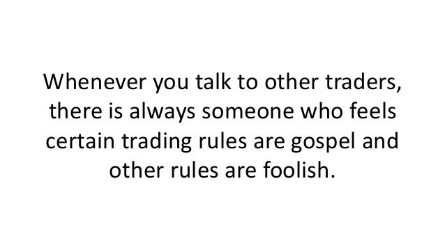 Question Your Trading Rules Slide 2