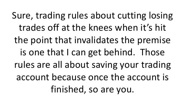 Question Your Trading Rules Slide 3