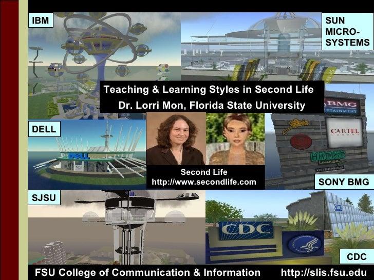 IBM SUN  MICRO- SYSTEMS SJSU DELL SONY BMG CDC FSU College of Communication & Information  http://slis.fsu.edu Teaching & ...