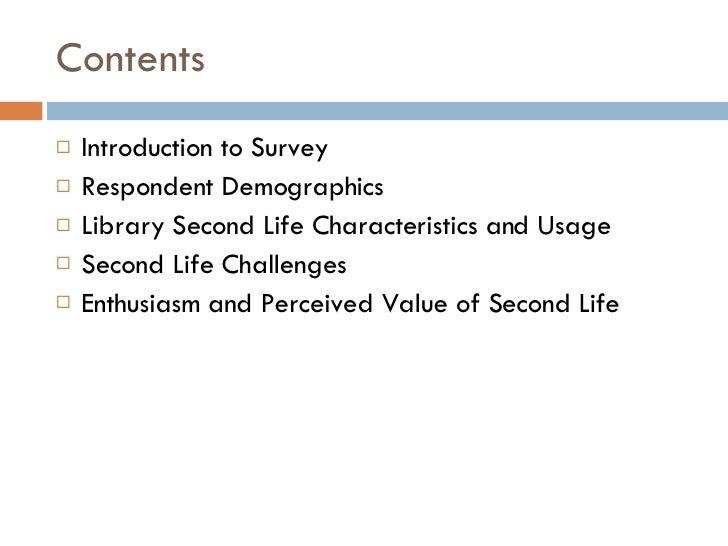 Sl Survey Results Slide 2