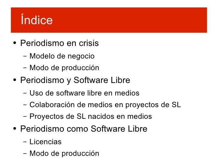 Periodismo y Software Libre Slide 2
