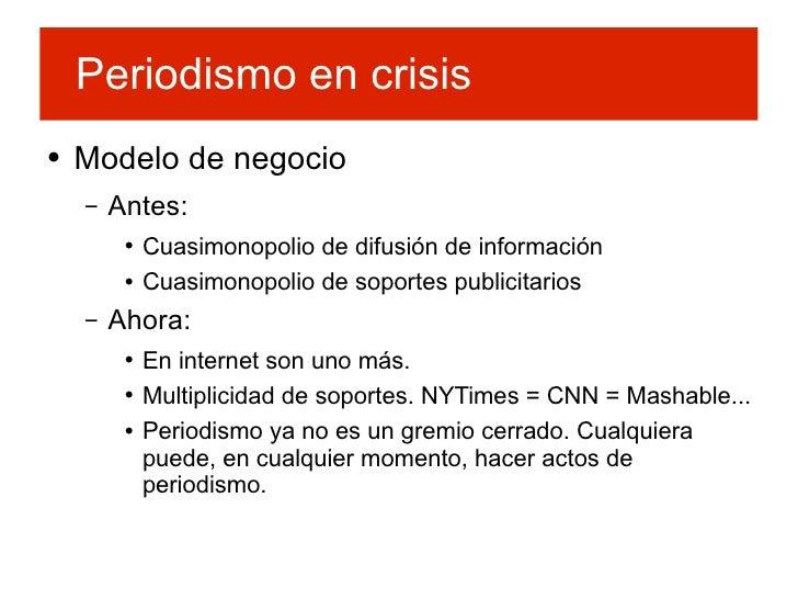 Periodismo y Software Libre Slide 3