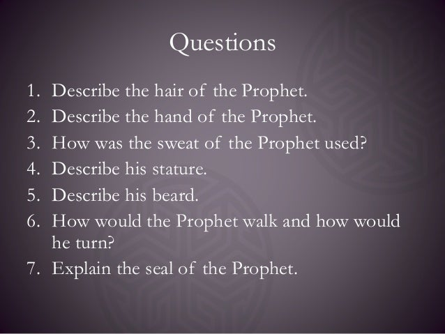 seerah of the prophet I had read the seerah, i had listened to the seerah, i had studied it, researched it, and even taught it but nothing made it as real to me as visiting those places and experiencing the life of the prophet (s).