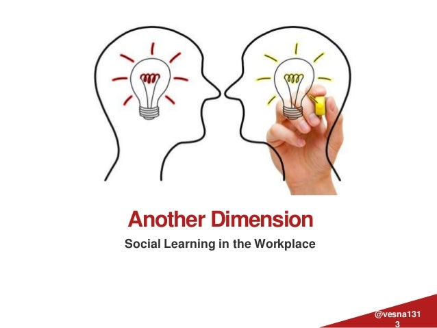 Another DimensionSocial Learning in the Workplace@vesna1313