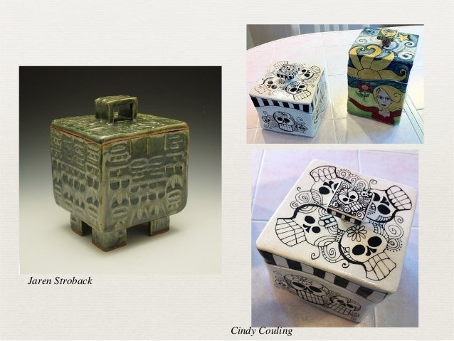 Ceramic Project: Slab built boxes