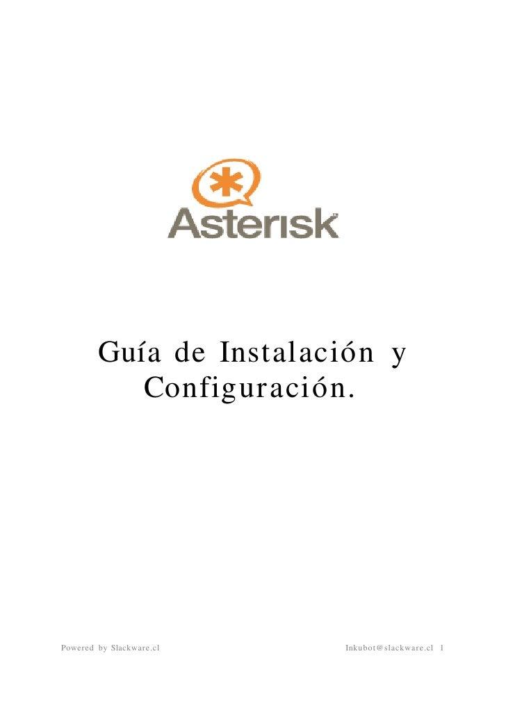 Slackware asterisk