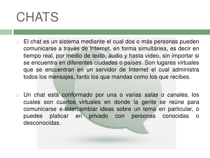 2.3 Chats