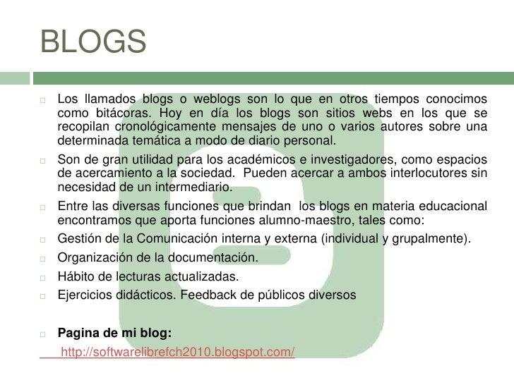 2.4 Blogs
