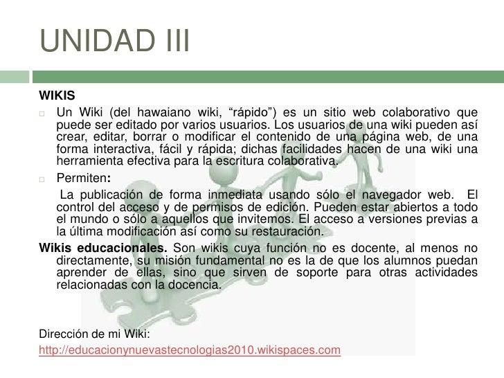 3. UNIDAD III  Herramientas de colaboración publica