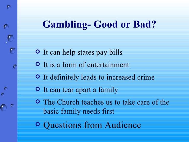 Gambling crime bad casino villas cherokee
