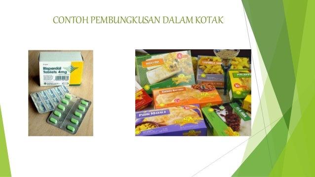 Slide Pembungkusan Packaging