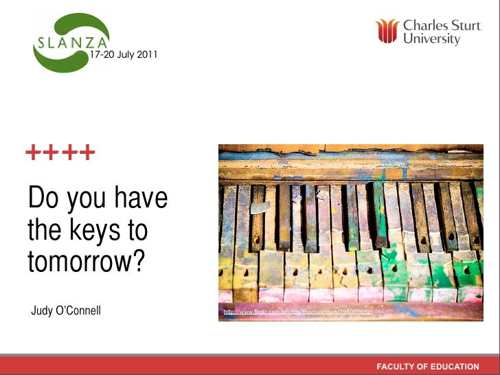 Do you havethe keys totomorrow?Judy O'Connell   http://www.flickr.com/photos/thomashawk/398005662/                        ...