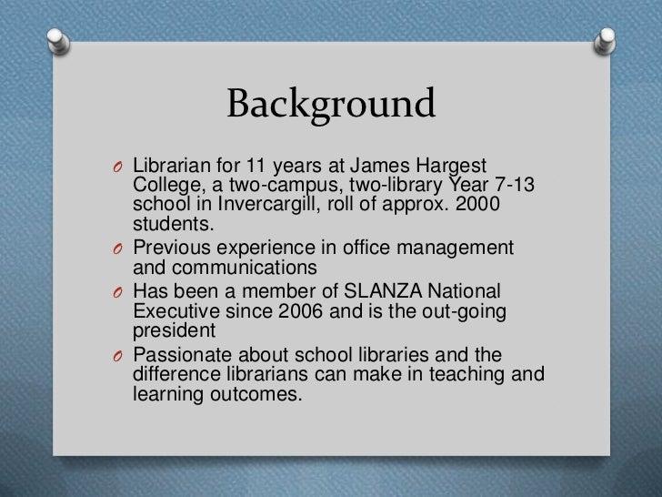 Creating Info Lit Opportunities in your School Slide 2