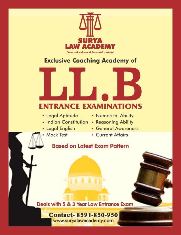 Surya Law Academy Prospectus 2017-18