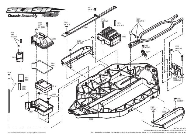 Slash 4wd Parts Diagram