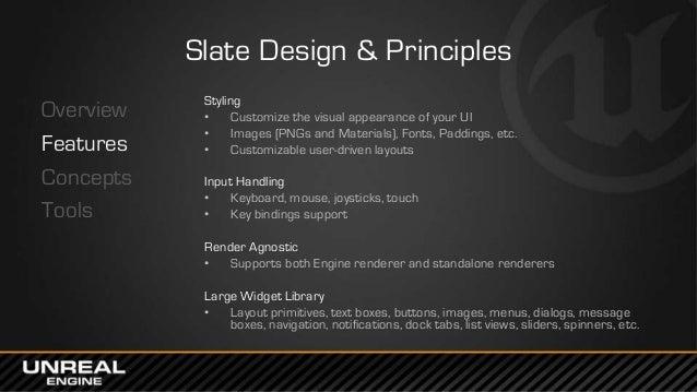 East Coast DevCon 2014: The Slate UI Framework - Architecture & Tools