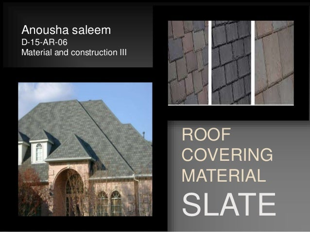 Roof Covering Material