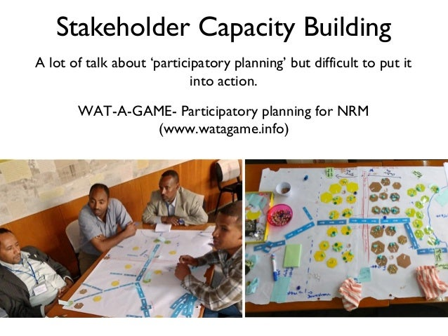participatory nrm 284 participatory approaches in identifying constraints and opportunities for efficient natural resource management (nrm) k ravi shankar, scientist (senior scale.