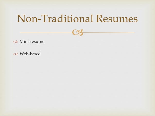 slate resume workshop