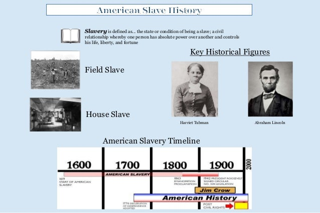 Slave history powerpoint landscape