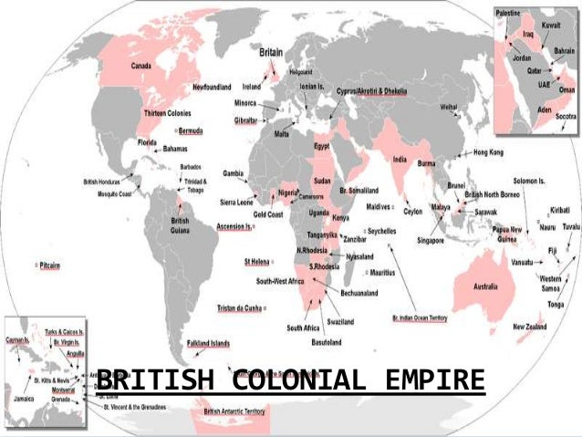 british empire today