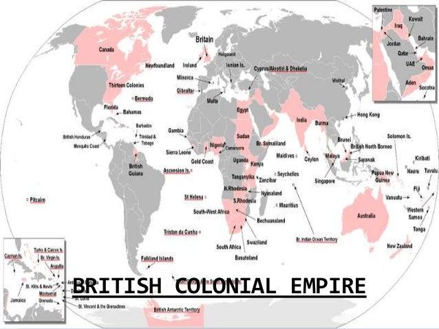 british empire today