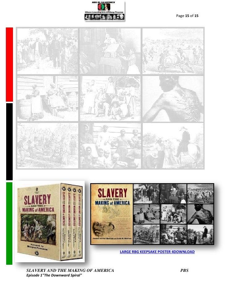 slavery and the making of america Películas y series de tv seleccionar el departamento que el que deseas buscar.