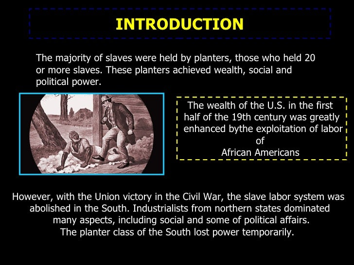 an introduction to the issue of slavery in the united states Amendment as the formal end to slavery in the united states how the introduction of slavery into slavery as an issue mostly for.