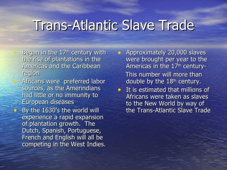 Slave trade, afst Slide 3