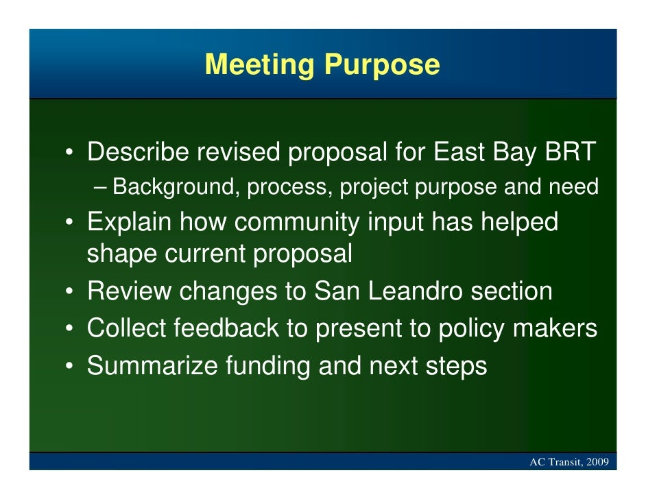 bay area rapid transit grant proposal The head of the san francisco bay area's public transit system wants to install newer video cameras and back them with cutting edge video analytics three homicides on bay area rapid transit spur $28 million high-tech security upgrade proposal.